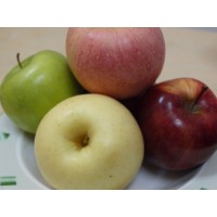 Apples Fresh Sampler - 6 CT (2 each of 3 types)