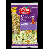 Salad - Fresh Express Asian Chopped Salad Kit - 12.0oz