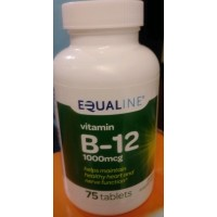 Equaline Vitamin B12 1090mcg - 75 CT