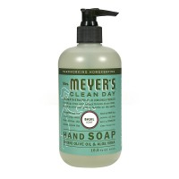 Mrs Meyer's Clean Day Liquid Hand Soap - Basil 12.5 FL OZ