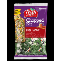 Salad - Fresh Express BBQ Ranch  Chopped Kit - 11.3oz