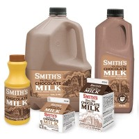 Fresh Milk Smith's Chocolate 1% - .5 GL