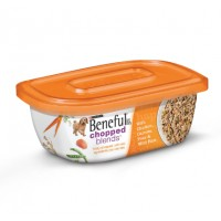 Beneful Chopped Blends with Chicken, Carrots, Peas,