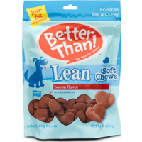 Better Than! Lean Bacon Flavored Dog Chews 8 OZ