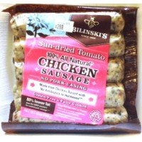 Bilinski's Sun-dried Tomato 100% All Natural Chicken Sausage 12 OZ