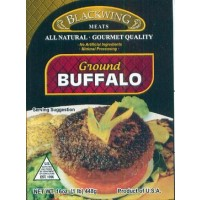 Blackwing Organic Ground Buffalo - 1 LB
