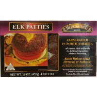 Blackwing Meats Elk Patties - 1Lb / 4 CT