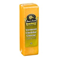 Boar's Head Vermont Yellow Cheddar Cheese - Deli Sliced Thin (8oz)