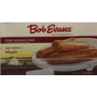 Bob Evans Pork Sausage Links - Fully Cooked - Maple 12ct / 9.6 OZ