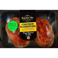 Butcher Van Chicken Florentine Approx. 1LB