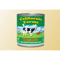 California Farms Organic Sweetened Condensed Milk 14 OZ