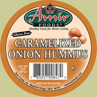 Amir Foods Caramelized Onion Hummus Dip 8 OZ