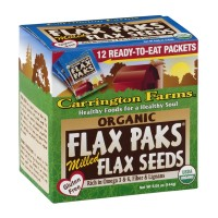 Carrington Farms Flax Paks - Organic Milled Flax Seeds 12ct
