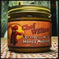 Chef William Cranberry Mead Honey Mustard 12oz