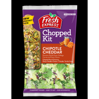 Salad - Fresh Express Chipotle Cheddar Chopped Kit - 11.4oz