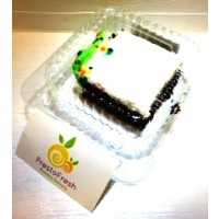 Zagara's Own Chocolate Cake with White Frosting - Individual Size