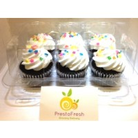 Zagara's Own Bakery Chocolate Cupcakes - 6ct