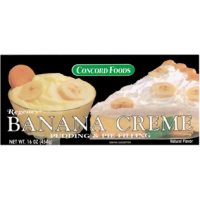 Concord Foods Banana Creme Pudding and Pie Filling 16 OZ