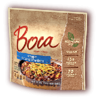 Boca Non-GMO Soy Veggie Ground Crumbles - 12 OZ