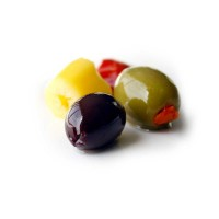 Hot Pitted Olive Salad - Olive Bar - apprx 0.4lb