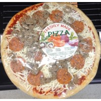 Fresh Made Ready to Cook Sausage & Pepperoni Pizza (serves 2 or 3)