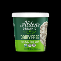 Alden's Organic Dairy Free Freckled Mint Chip 14oz