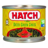 Hatch Diced Green Chiles HOT 4 OZ