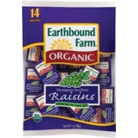 Earthbound Farms Organic Raisins Mini Packs 7 OZ