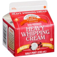 CF Burger Creamery Heavy Whipping Cream .5 PT
