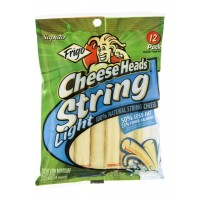 Frigo Cheese Heads String Mozzarella Cheese Light - 12 CT 10 OZ