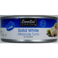 Essential Everyday Solid White Albacore Tuna in Water - 5.0 OZ