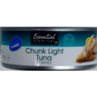 Essential Everyday Chunk Light Tuna in Water -5.0  OZ
