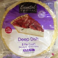 Essential Everyday Deep Dish Pie Crusts - 2 CT / 12 OZ