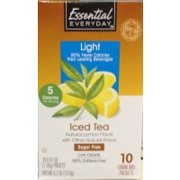 Essential Everyday Iced Tea Drink Mix Packets to Go 10 Ct