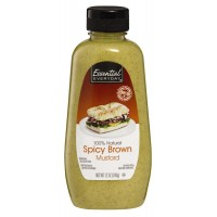 Essential Everyday Spicy Brown Mustard Squeeze 12 FL OZ