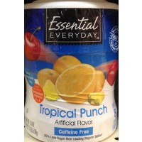Essential Everyday Tropical Punch Drink Mix 19 Oz