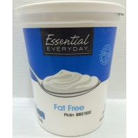 Essential Everyday Low Fat Plain Yogurt 32 OZ