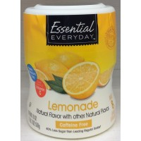 Essential Everyday Lemonade Coolers Drink Mix 19 Oz