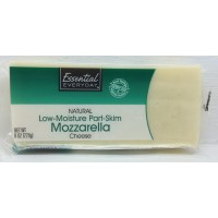 Essential Everyday Mozzarella Chunk Part Skim 8 OZ