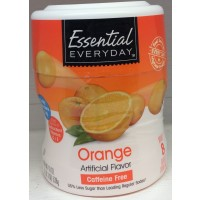 Essential Everyday Orange Coolers Drink Mix 19 Oz