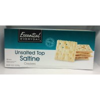 Essential Everyday Saltines Unsalted 16 OZ