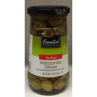 Essential Everyday (Green) Manzanilla Olives Stuffed with Minced Pimento 5.75 OZ