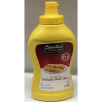 Essential Everyday Yellow Mustard Squeeze 14 OZ