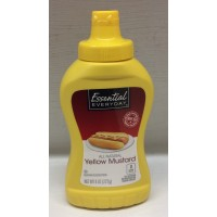 Essential Everyday Yellow Mustard Squeeze 8 OZ