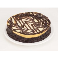 Fathers Table Fudge Brownie Cheesecake 6""