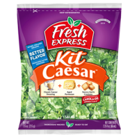 Salad - Fresh Express Caesar Salad Kit - 7.6 OZ