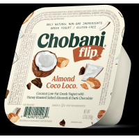 Chobani Greek Flip Low-Fat Yogurt Almond Coco Loco 5.3oz