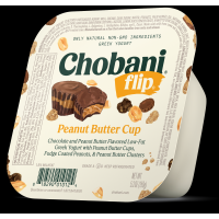 Chobani Greek Flip Low-Fat Yogurt Peanut Butter Cup 5.3oz