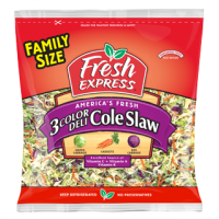 Salad - Fresh Express 3 Color Deli Coleslaw - 14 OZ