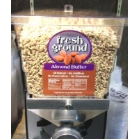 Fresh Ground Almond Butter - apprx .5 Lb